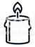 Symbol Kerze, Bestattungen Rudolph oHG